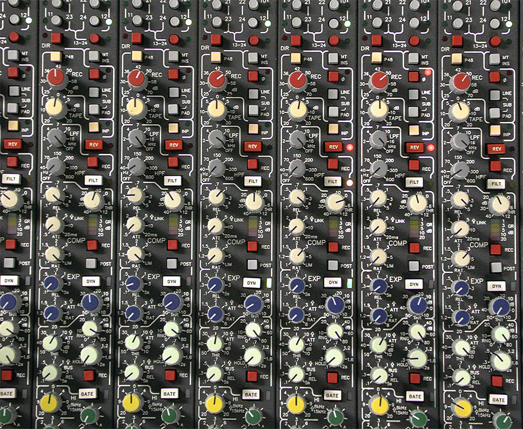 Input Modules of Mixing Console 5MT