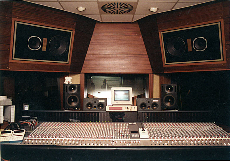 Mixing Console 5MT-S/48 with AT Master Block and Console Automation