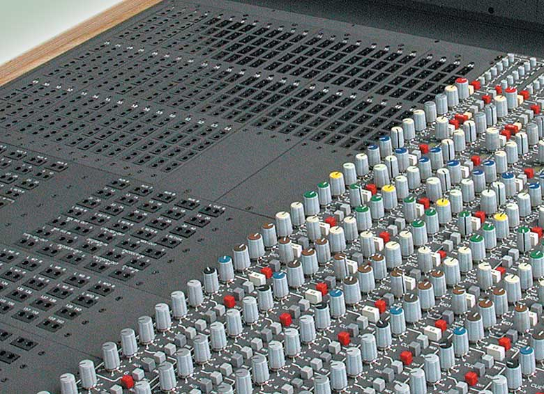 Patch Bay of Mixing Console 5MT
