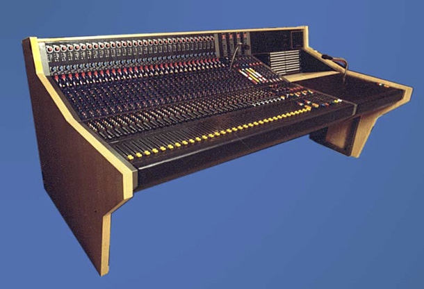 Large Format 'Cassette' Audio Console, made in 1980