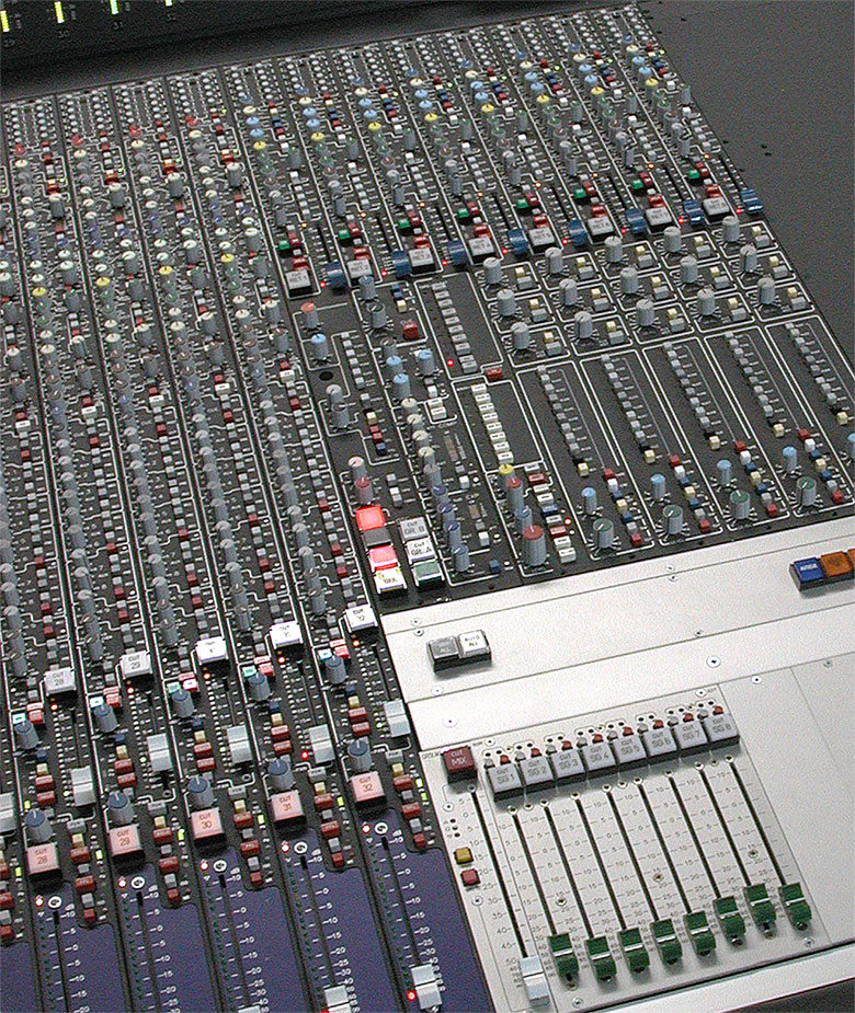 Master Section of Mixing Console 5MT