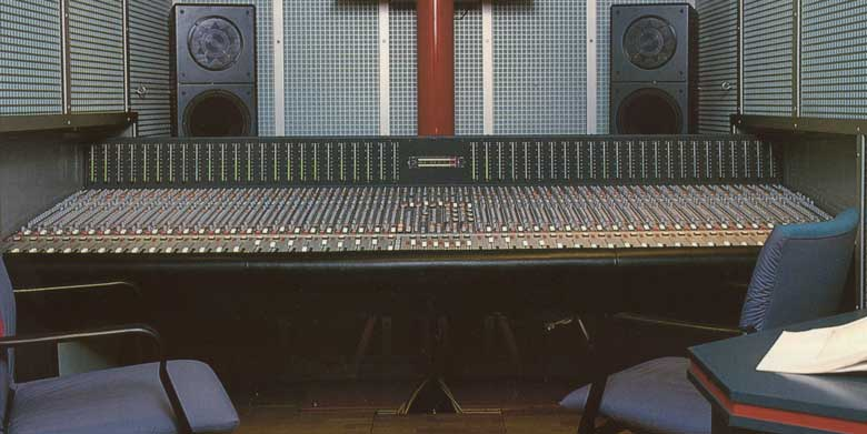 automated Mixing Console 5MT-S in Recording Van
