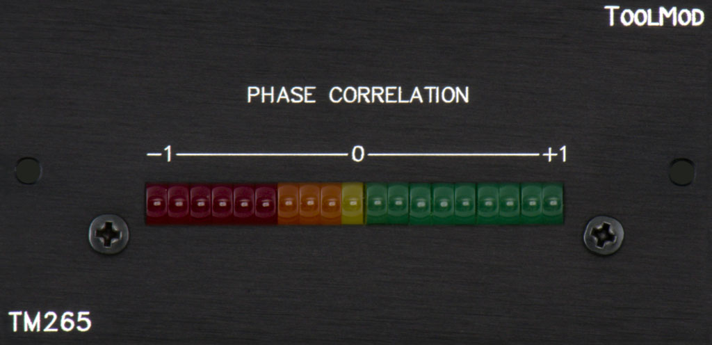 phase correlation meter tm265 h