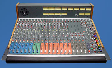 compact, analog Broadcast Consoles BC3